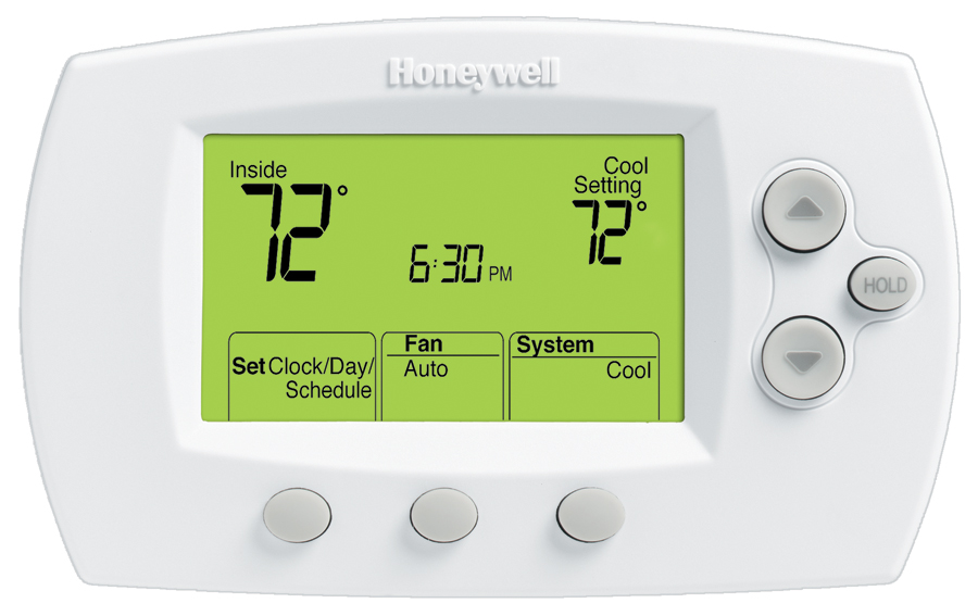 Xl800 digital thermostat manual user guide manual that easy to read focuspro programmable thermostat mister quik home services rh mrquikhomeservices com digital thermostats for home honeywell digital thermostat fandeluxe Images