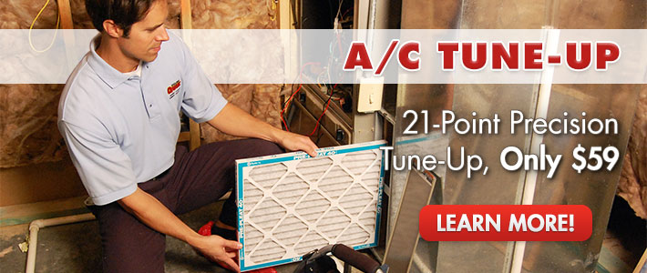 A/C Tune-up - 21-point precision tune-up for only $59