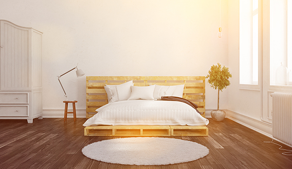 Reclaimed Pallet Bedframe DIY - Mister Quik Home Services