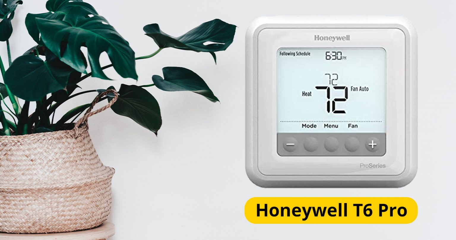 Honeywell T6 Pro Thermostat, Mister Quik